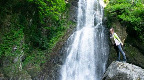 大滝(仁科川)・静岡県【西伊豆に残された秘境滝】
