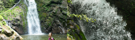 殺人の滝(世立八滝)・群馬県【噂のスーパーひょんぐり滝】