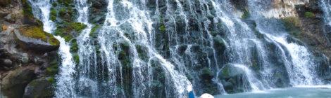 白ひげの滝・北海道【リバーウォークで感動の大接近!】