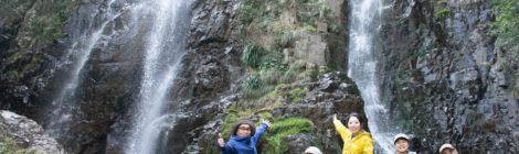 下甑島の滝ツアー【前編:断崖絶壁の秘境、内川内の滝へ】