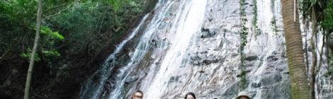 下甑島の滝ツアー【後編:瀬尾観音三滝、秘密の道を開拓!】
